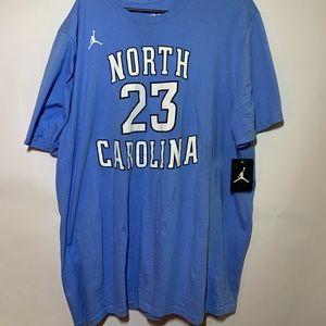 Michael Jordan North Carolina Tarheels T Shirt NWT